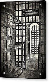Acrylic Print featuring the photograph Prison Cell ... by Chuck Caramella