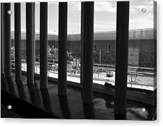 Prison Cell View Acrylic Print by Aidan Moran