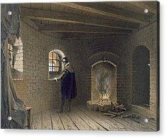 Prison Of Duke John, Son Of Gustav I Acrylic Print by Karl Johann Billmark