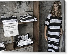 Prison Tour 2 - Fashion Statement Acrylic Print by Steve Ohlsen