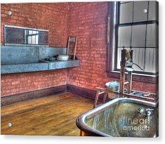 Prisoner's Bath And Laundry Acrylic Print by MJ Olsen