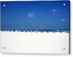 Pristine Clearwater Acrylic Print