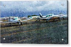 Private Airport Acrylic Print