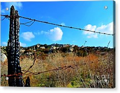 Private Property Acrylic Print