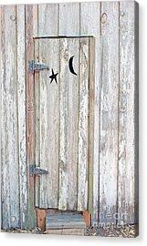 Privy Door Acrylic Print