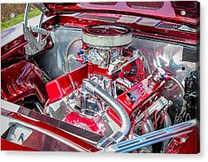 Acrylic Print featuring the photograph Pro Street Hot Rod Engine  by Trace Kittrell