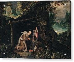 Probably Bruegel Jan Called Bruegel Acrylic Print by Everett