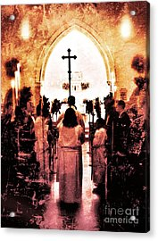 Procession Of Light Acrylic Print by Kevyn Bashore