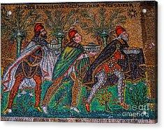 Procession Of The Magi Acrylic Print