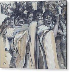 Procession Acrylic Print