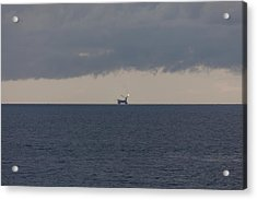 Production Platform Offshore Equatorial Guinea Acrylic Print