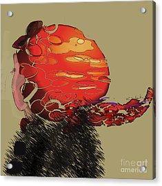 Profile Acrylic Print by Gabrielle Schertz