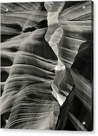 Profile In Stone Acrylic Print