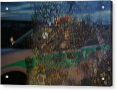 Profile In The Window. Acrylic Print by Carol Brown