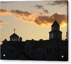 Acrylic Print featuring the photograph Profile Of Prayer by Marie Neder