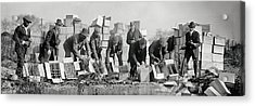 Prohibition Feds Destroy Liquor  1923 Acrylic Print