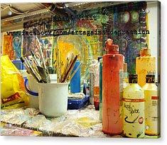 Project Art Against Depression Visit Us On F B Acrylic Print