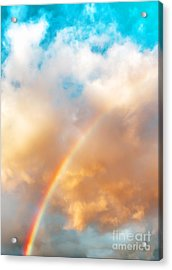 Promise Acrylic Print by MaryJane Armstrong