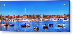 Acrylic Print featuring the photograph Promontory Point - Newport Beach by Jim Carrell