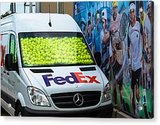Promotion During The Atp Trophy In Stuttgart - Germany Acrylic Print by Frank Gaertner