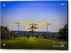 Prop Wash Acrylic Print by Marvin Spates