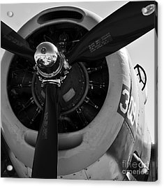 Propeller Acrylic Print by Kirt Tisdale