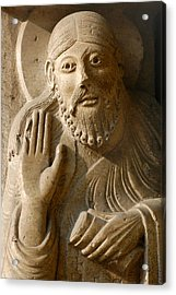 The Prophet Isaiah Acrylic Print by Italian School