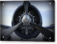 Acrylic Print featuring the photograph Props by Laurie Perry