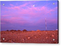 Prospecting Rod South Africa 1996 Acrylic Print by Rolf Ashby