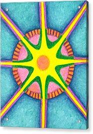 Prosperity Mandala Acrylic Print