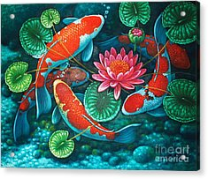 Prosperity Pond Acrylic Print