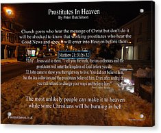 Prostitutes In Heaven Acrylic Print