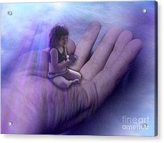 Protect Their Souls Acrylic Print by Tlynn Brentnall