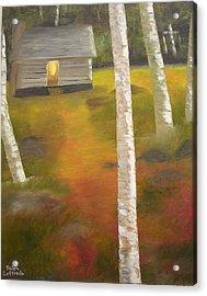 Protecting The Homestead Acrylic Print by Ralph Loffredo