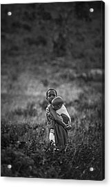 Acrylic Print featuring the photograph Protection by Antonio Jorge Nunes