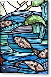 Protection Island Seascape Acrylic Print