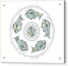 Protection Acrylic Print by Pamela Schiermeyer