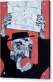 Protesto No. 1  Acrylic Print by Mark M  Mellon