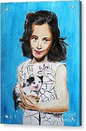 Proud Moment Acrylic Print by Judy Kay