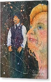 Proud Mother Of The Groom Acrylic Print