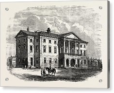 Province Building, Charlotte Town, Prince Edward Island Acrylic Print