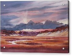 Acrylic Print featuring the painting Provincelands by Karol Wyckoff