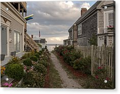 Provincetown Alley Acrylic Print