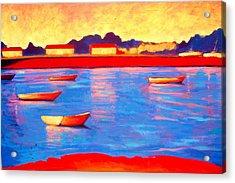 Provincetown Pier Acrylic Print by Craig  Bruce