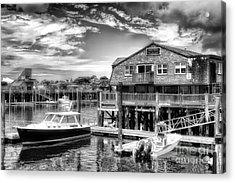 Provincetown Pier Acrylic Print