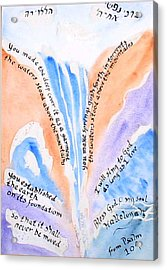Psalm 104 Acrylic Print by Linda Feinberg