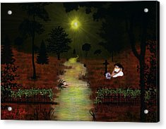 Psalm 23  Acrylic Print by Michael Rucker