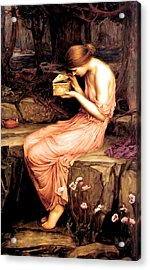 Psyche Opening The Golden Box 1903 Acrylic Print