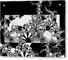 Psychedelic Garden Acrylic Print