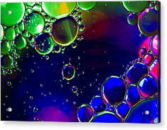 Psychedelic  Acrylic Print by Kelly Howe